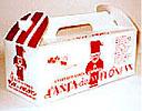 サンタdeメロンパンのパッケージ