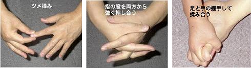 手と足の運動