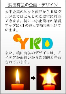 浜田有弘の企画・デザイン