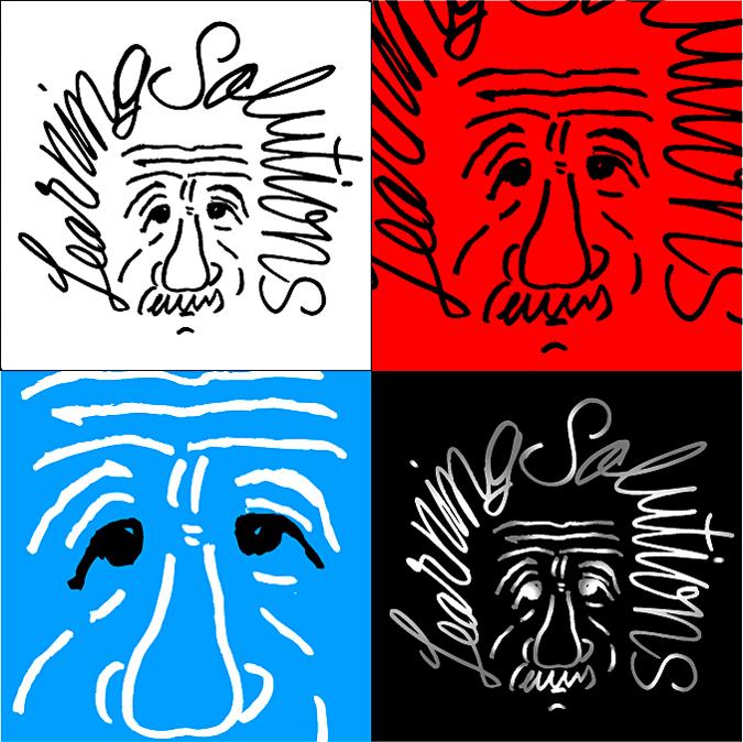 アインシュタインのロゴ