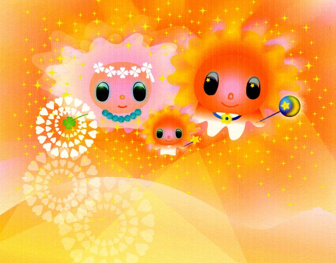 光の天使たち