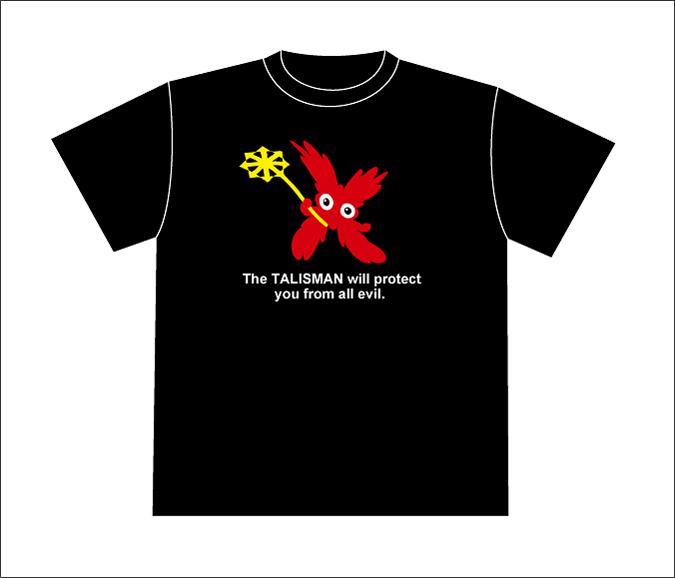キャラクターのオリジナル・Tシャツ《タリズマン》