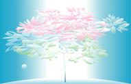 宙(そら)に活ける花〈HAPPINESS)