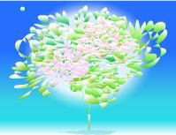 宙(そら)に活ける花〈HAPPY)
