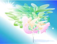 宙(そら)に活ける花〈安らぎ)
