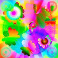 宙(そら)の曼荼羅〈蝶の誕生〉